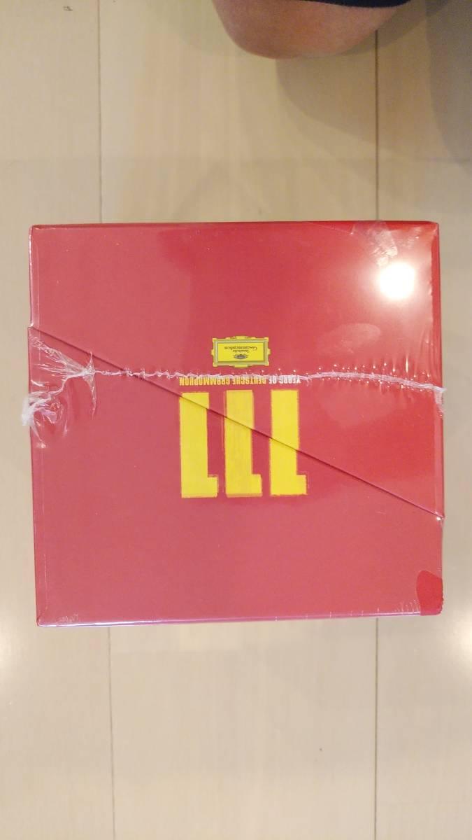 新品未開封・廃盤商品!! Box Set Classical/111 Years Of Deutsche Grammophon The Collectors' Edition_画像5