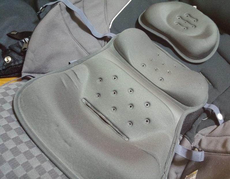 送料込 combi コンビ ベビーカー ディアクラッセ オート4キャス エッグショック XY-500 美品 専用 レインカバー 未使用_画像4