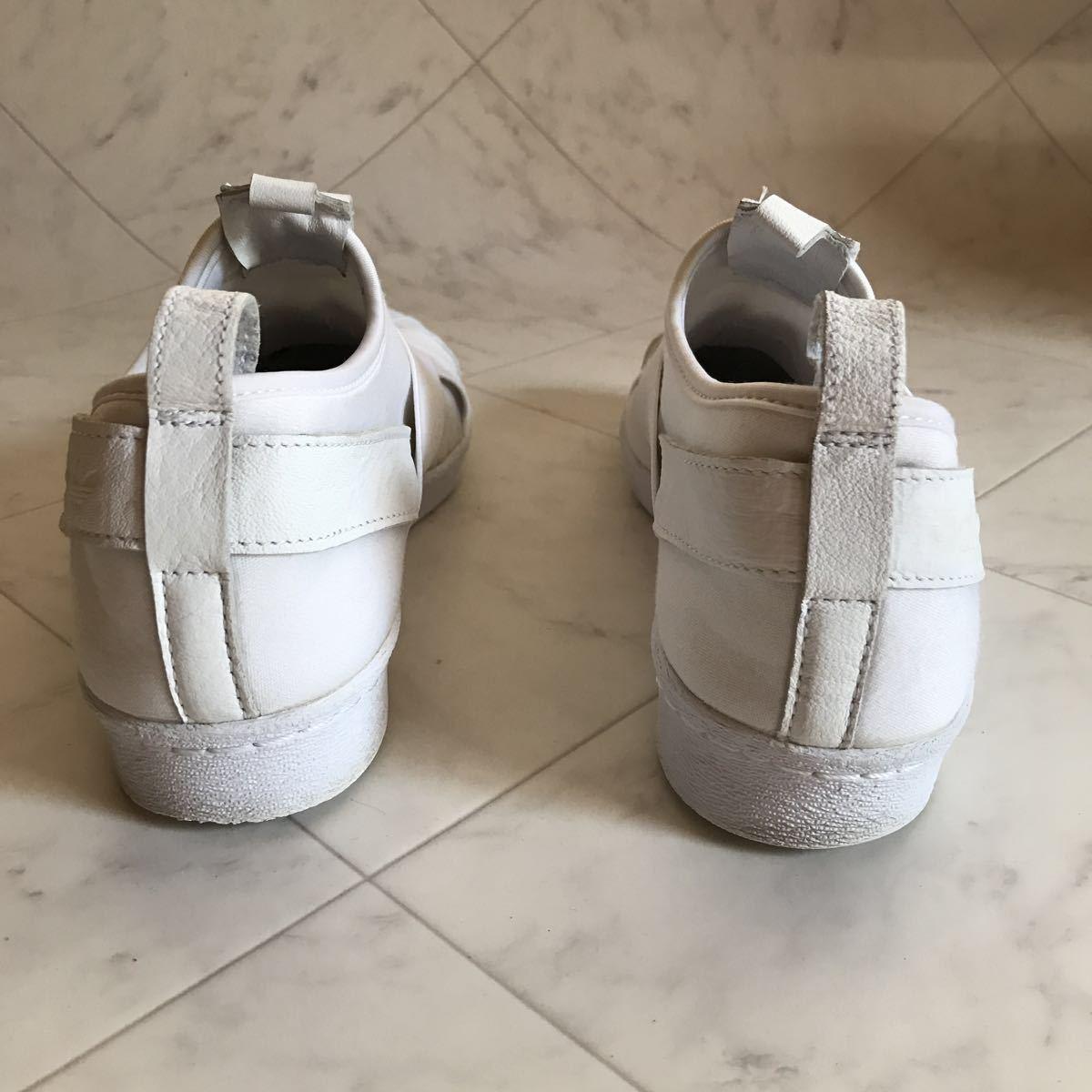adidas アディダス スーパースター スリッポン 24.5㎝ /A133_画像3
