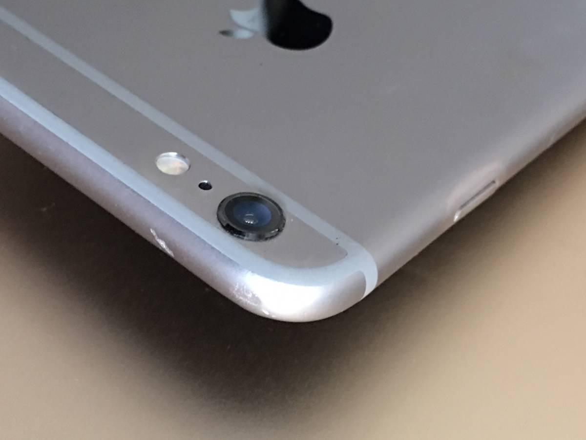 ソフトバンク SIMロック解除済み iPhone6S Plus 16GB スペースグレイ バージョン11.4.1 管理番号1080_画像5