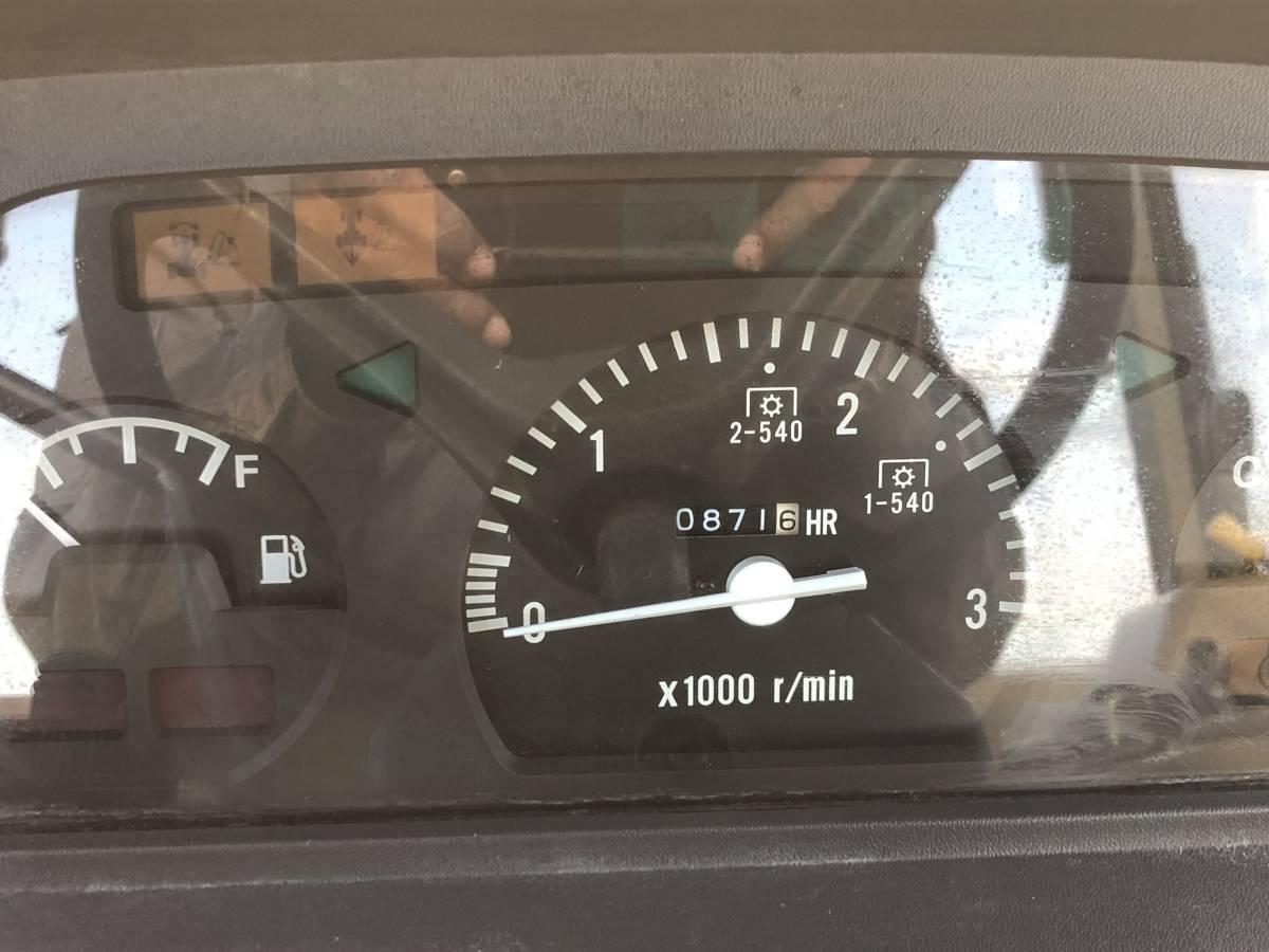 クボタ GM64 トラクター 64馬力 4WD  エアコン キヤビン 付き_画像8