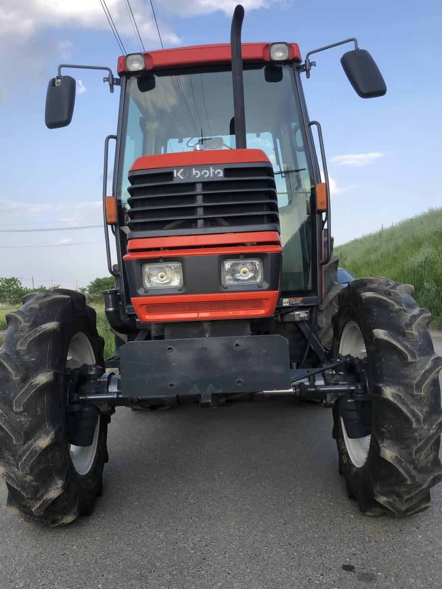 クボタ GM64 トラクター 64馬力 4WD  エアコン キヤビン 付き_画像2
