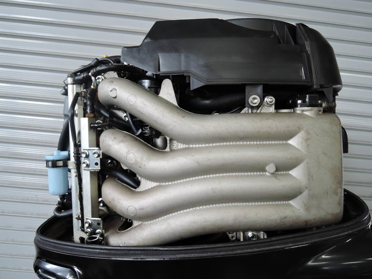 エンジン始動OK SUZUKI スズキ 船外機 140馬力 インジェクション 付属品付 4スト S930515 ヤマハ トーハツ ホンダ 90 100 115 130 150 175_画像3