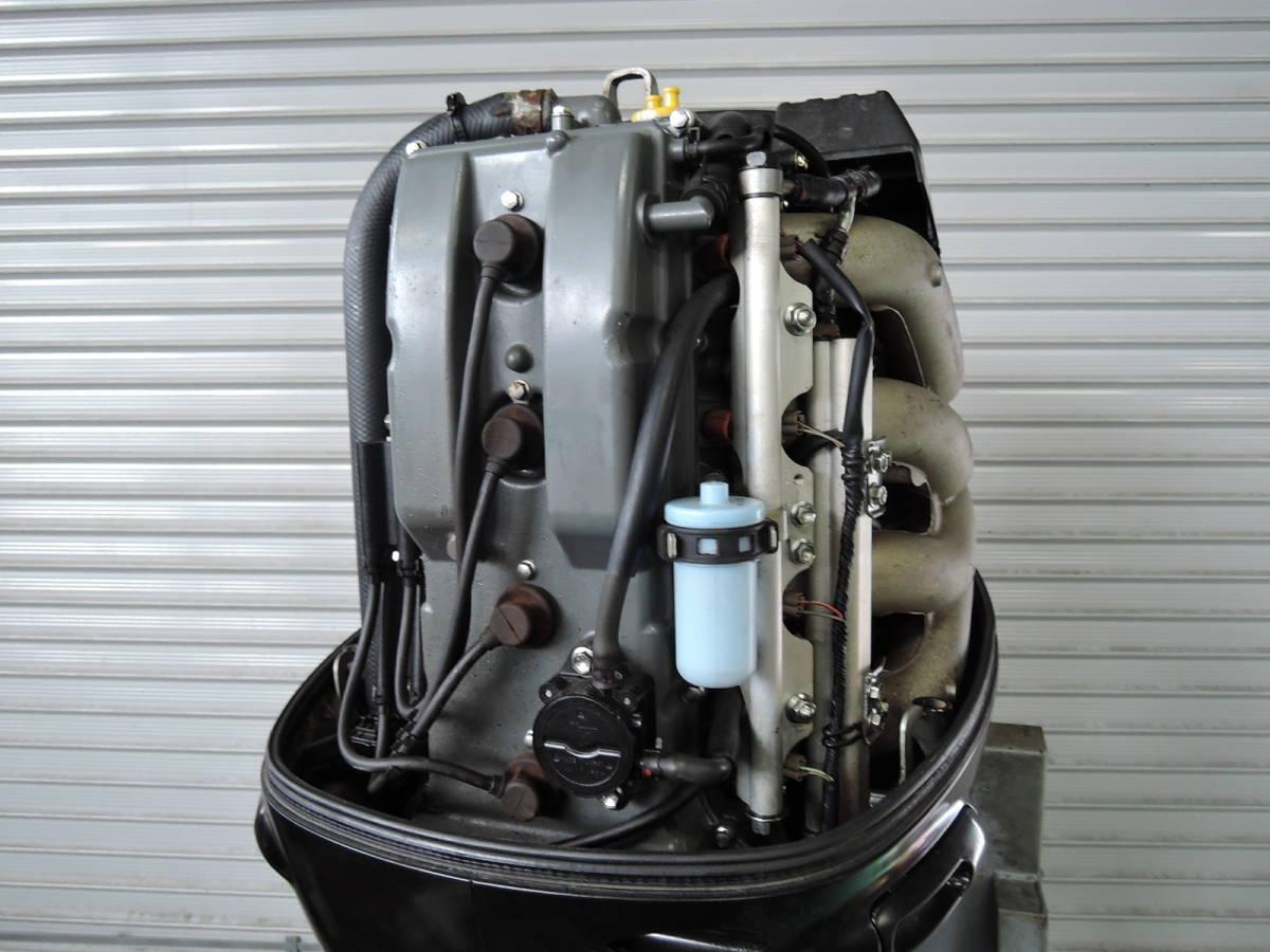 エンジン始動OK SUZUKI スズキ 船外機 140馬力 インジェクション 付属品付 4スト S930515 ヤマハ トーハツ ホンダ 90 100 115 130 150 175_画像5