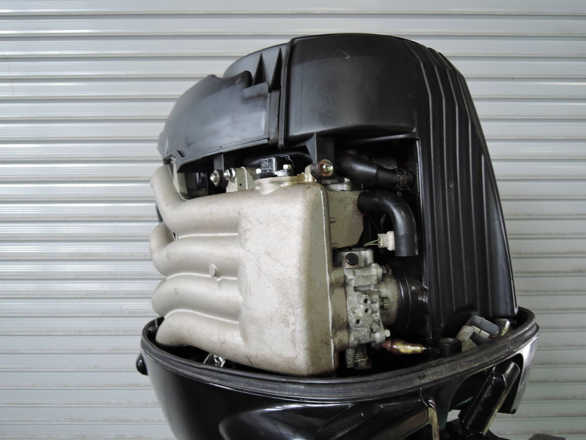 エンジン始動OK SUZUKI スズキ 船外機 140馬力 インジェクション 付属品付 4スト S930515 ヤマハ トーハツ ホンダ 90 100 115 130 150 175_画像6