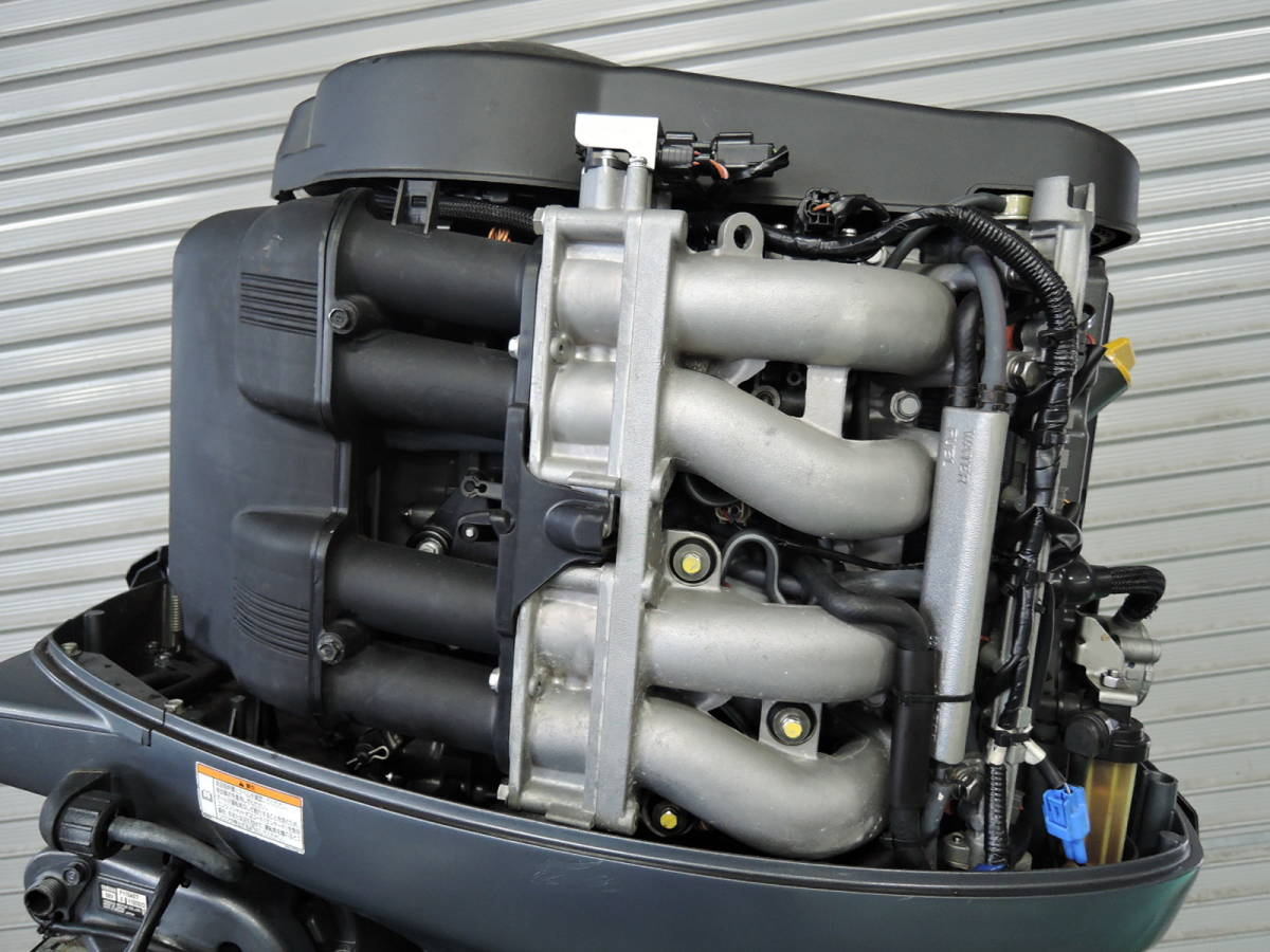 エンジン始動OK YAMAHA ヤマハ 船外機 115馬力 4スト インジェクション S490517 スズキ トーハツ ホンダ 60 70 80 90 100 130 150_画像3
