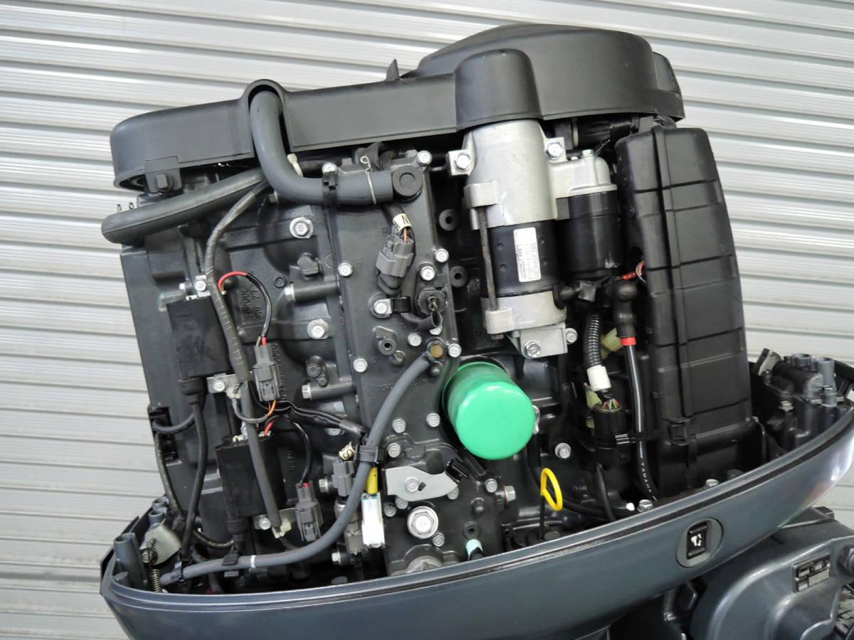 エンジン始動OK YAMAHA ヤマハ 船外機 115馬力 4スト インジェクション S490517 スズキ トーハツ ホンダ 60 70 80 90 100 130 150_画像4