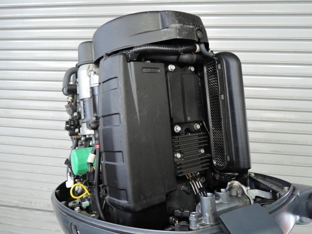 エンジン始動OK YAMAHA ヤマハ 船外機 115馬力 4スト インジェクション S490517 スズキ トーハツ ホンダ 60 70 80 90 100 130 150_画像5