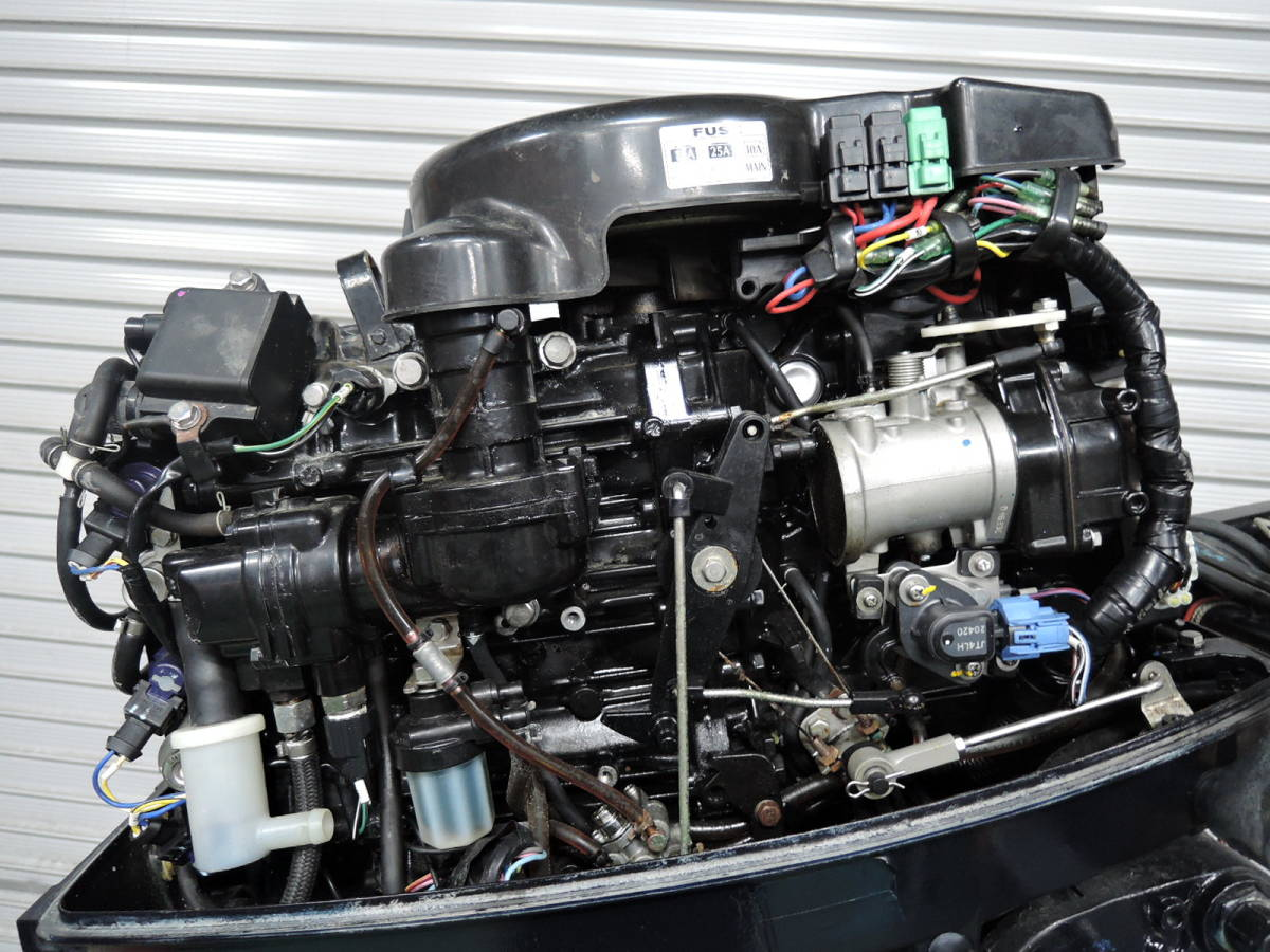 エンジン始動OK TOHATSU トーハツ 船外機 50馬力 TLDI M780515 スズキ ヤマハ ホンダ 20 25 30 40 60 70 80_画像3