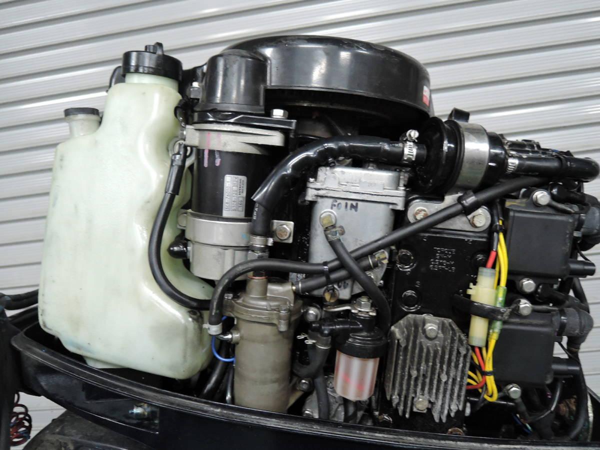 エンジン始動OK TOHATSU トーハツ 船外機 50馬力 TLDI M780515 スズキ ヤマハ ホンダ 20 25 30 40 60 70 80_画像4