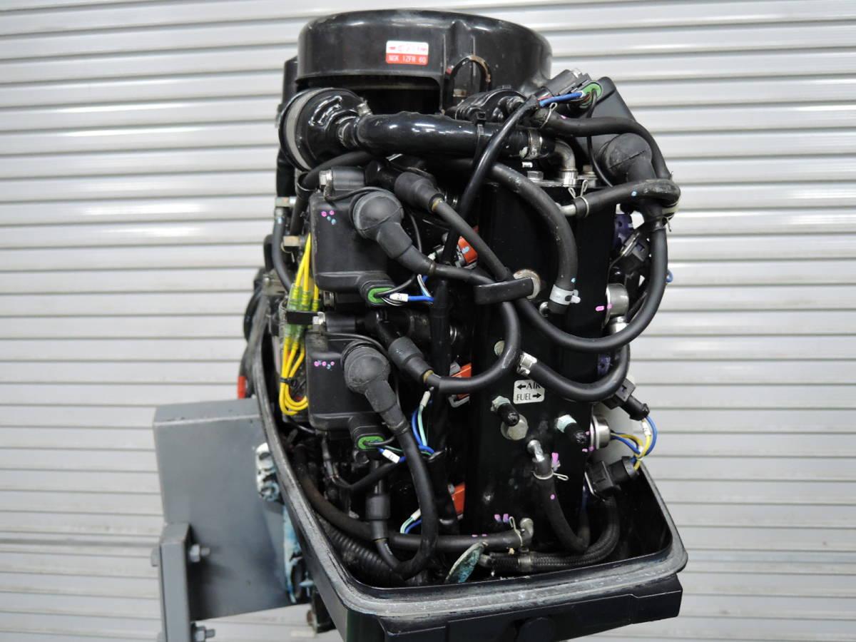 エンジン始動OK TOHATSU トーハツ 船外機 50馬力 TLDI M780515 スズキ ヤマハ ホンダ 20 25 30 40 60 70 80_画像5