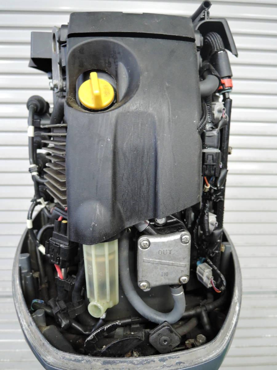 エンジン始動OK YAMAHA ヤマハ 船外機 70馬力 インジェクション 4スト ジャンク M220513 スズキ トーハツ ホンダ 40 50 60 80 90 100 115_画像5