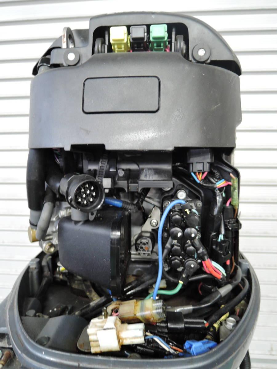 エンジン始動OK YAMAHA ヤマハ 船外機 70馬力 インジェクション 4スト ジャンク M220513 スズキ トーハツ ホンダ 40 50 60 80 90 100 115_画像6