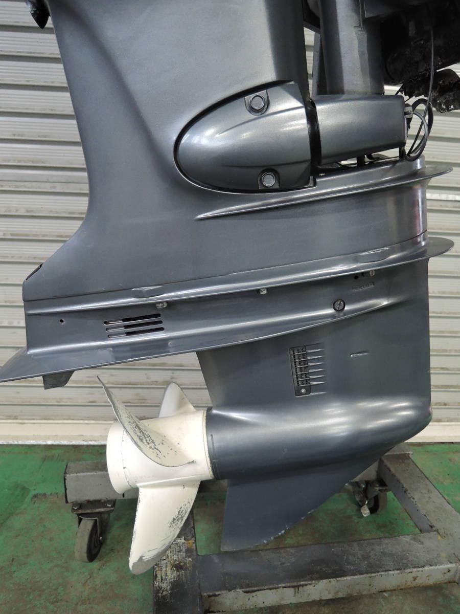 エンジン始動OK YAMAHA ヤマハ 船外機 115馬力 4スト インジェクション S490517 スズキ トーハツ ホンダ 60 70 80 90 100 130 150_画像7