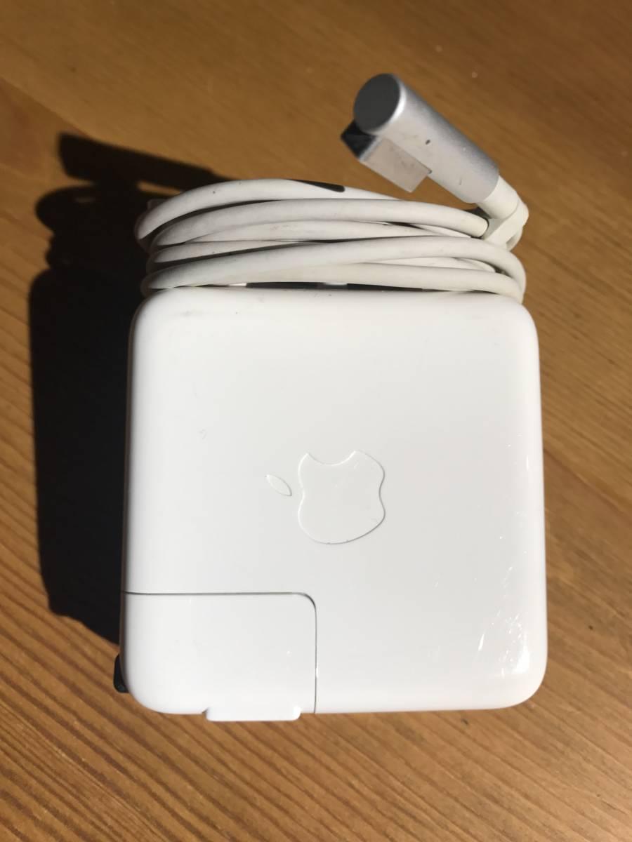 アップル MacBook Airアダプター(数回使用・本物)