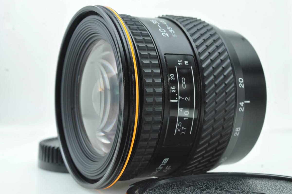 ★新品級★トキナー TOKINA AF 20-35mm f3.5-4.5 SONY ★完動★#6113_画像2