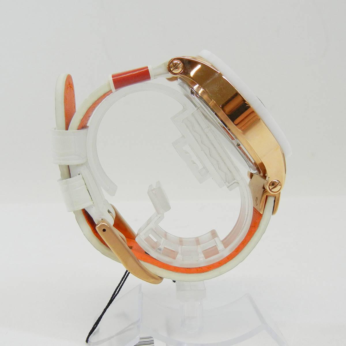 未使用♪【Angel Clover】エンジェルクローバー 腕時計 メンズ 自動巻 EVA43PWH-WH ①_画像7