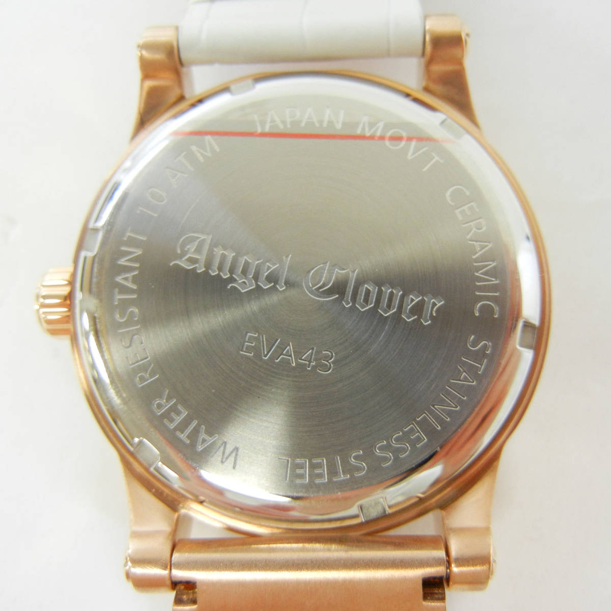未使用♪【Angel Clover】エンジェルクローバー 腕時計 メンズ 自動巻 EVA43PWH-WH ①_画像2
