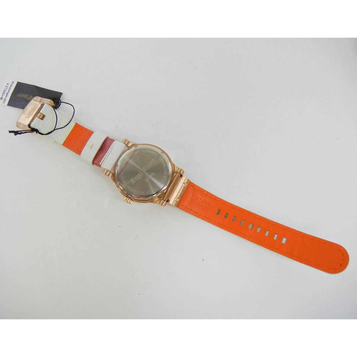 未使用♪【Angel Clover】エンジェルクローバー 腕時計 メンズ 自動巻 EVA43PWH-WH ①_画像4