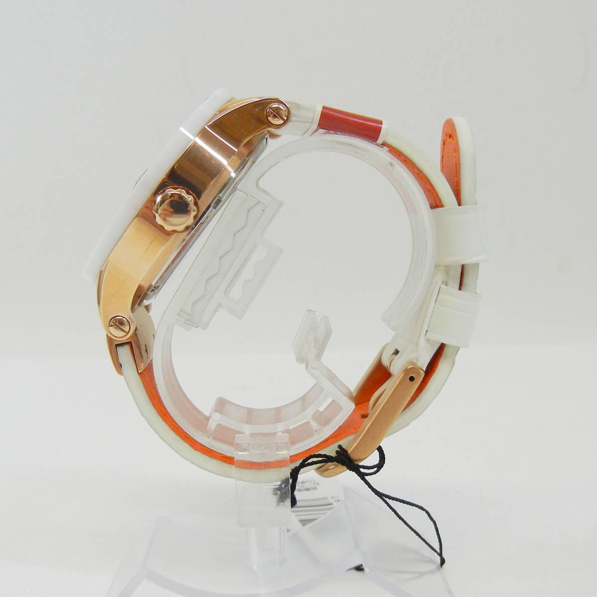 未使用♪【Angel Clover】エンジェルクローバー 腕時計 メンズ 自動巻 EVA43PWH-WH ①_画像6