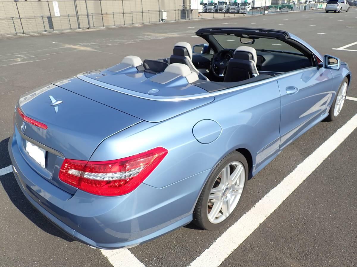 【最終値下げ】個人出品 H22 E350カブリオレ AMGスポーツパッケージ 走行距離36,000km 純正本革シート オープンカー ベンツ_画像6