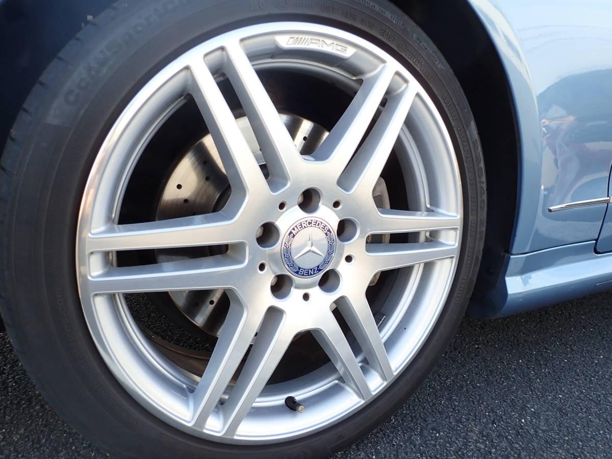 【最終値下げ】個人出品 H22 E350カブリオレ AMGスポーツパッケージ 走行距離36,000km 純正本革シート オープンカー ベンツ_画像8