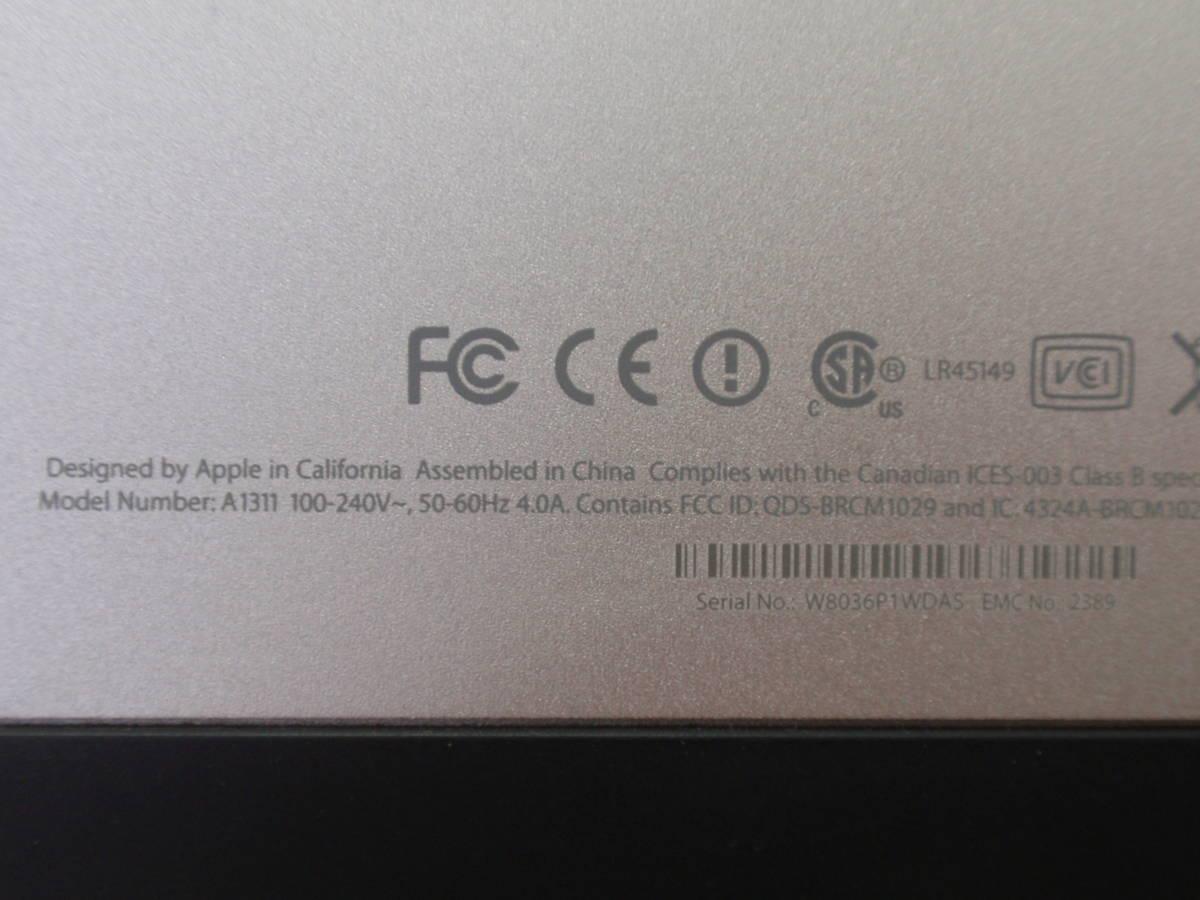 Apple アップル iMac A1311 (21.5-inch, Mid 2010) Intel CORE i3 3.06GHz 4GB_画像5