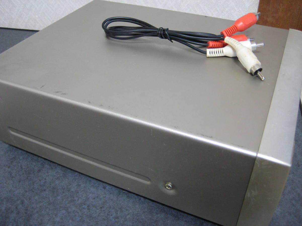 ONKYO 小型高音質 CDデッキ C-705 ピックアップ、ベルト新品交換済み 動作保証_画像4
