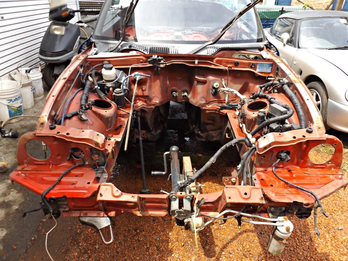 スズキ カプチーノ E-EA11R・フレーム & ドナー車両 引取り限定_画像2
