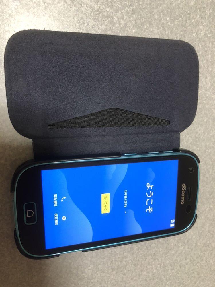 ドコモ らくらくスマートフォン 富士通 F-03K simロック解除、画面保護・ケース付き_画像7