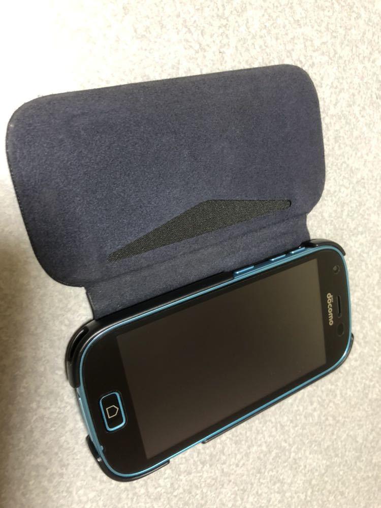 ドコモ らくらくスマートフォン 富士通 F-03K simロック解除、画面保護・ケース付き_画像4