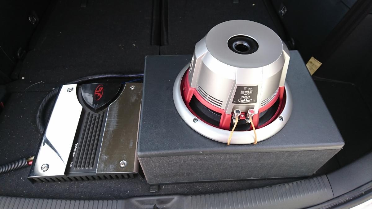 ロックフォードウーハー パンチシリーズP210S4 10インチ 25センチアンプ P3001 直接引き取り歓迎 視聴可 格安スタート