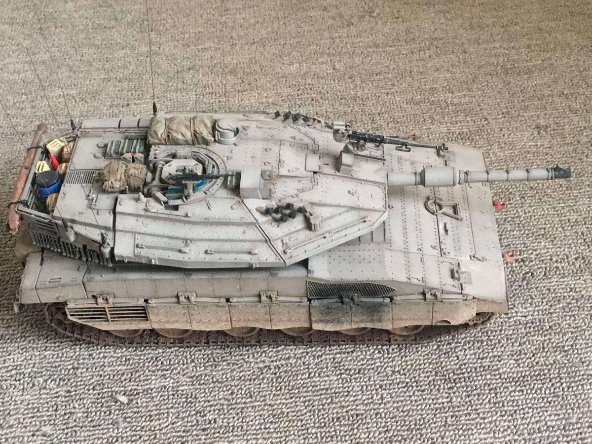 イスラエル軍メルカバ戦車1/35完成品