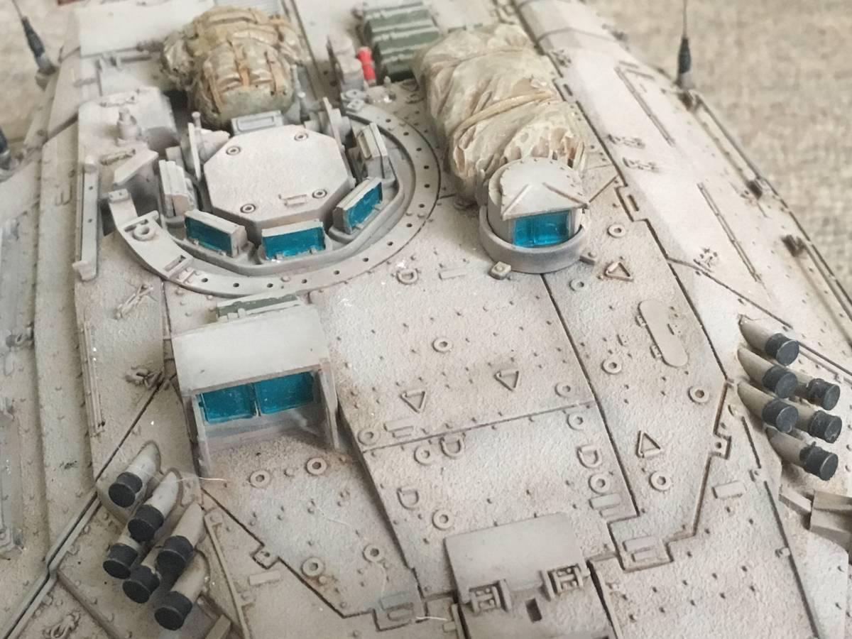 イスラエル軍メルカバ戦車1/35完成品_画像3