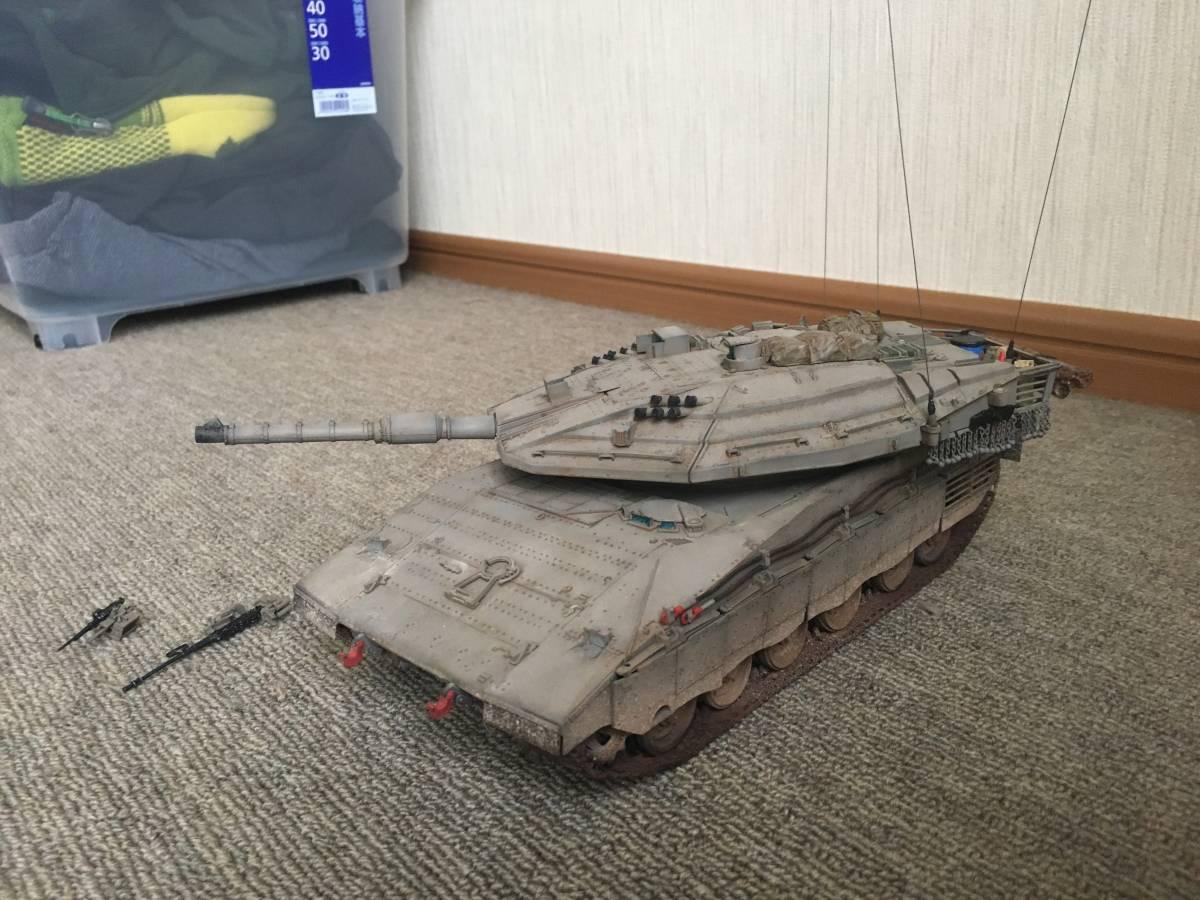 イスラエル軍メルカバ戦車1/35完成品_画像4