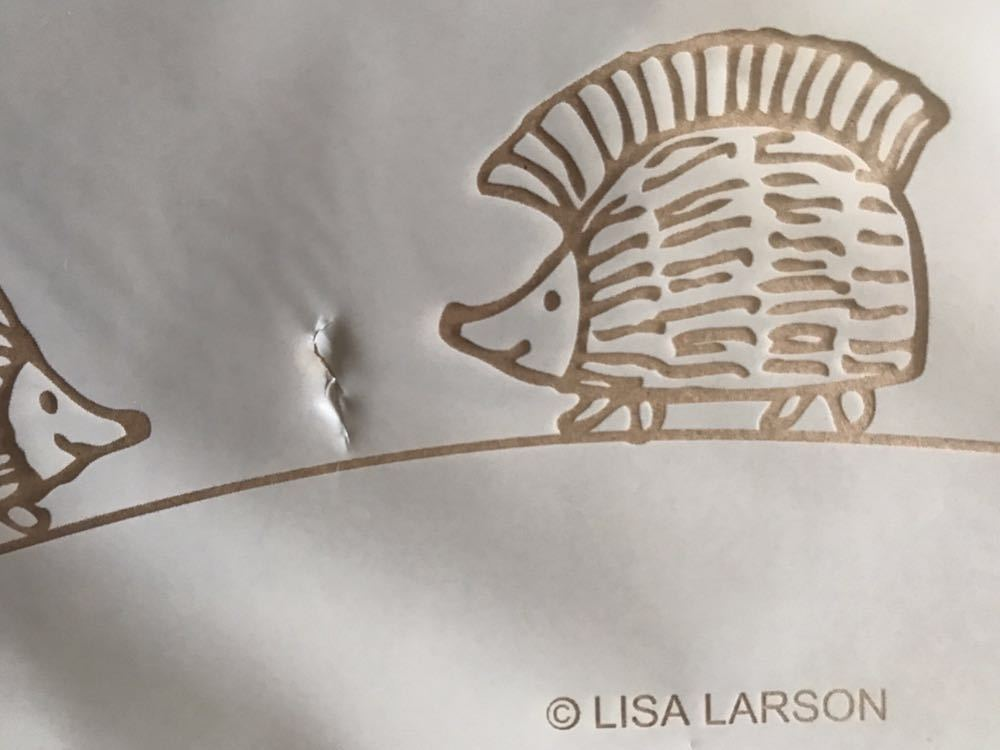 リサ・ラーソン★ハリネズミ3兄弟 おでかけ豪華3点セット【雑誌付録】※外装袋 キズあり_画像3