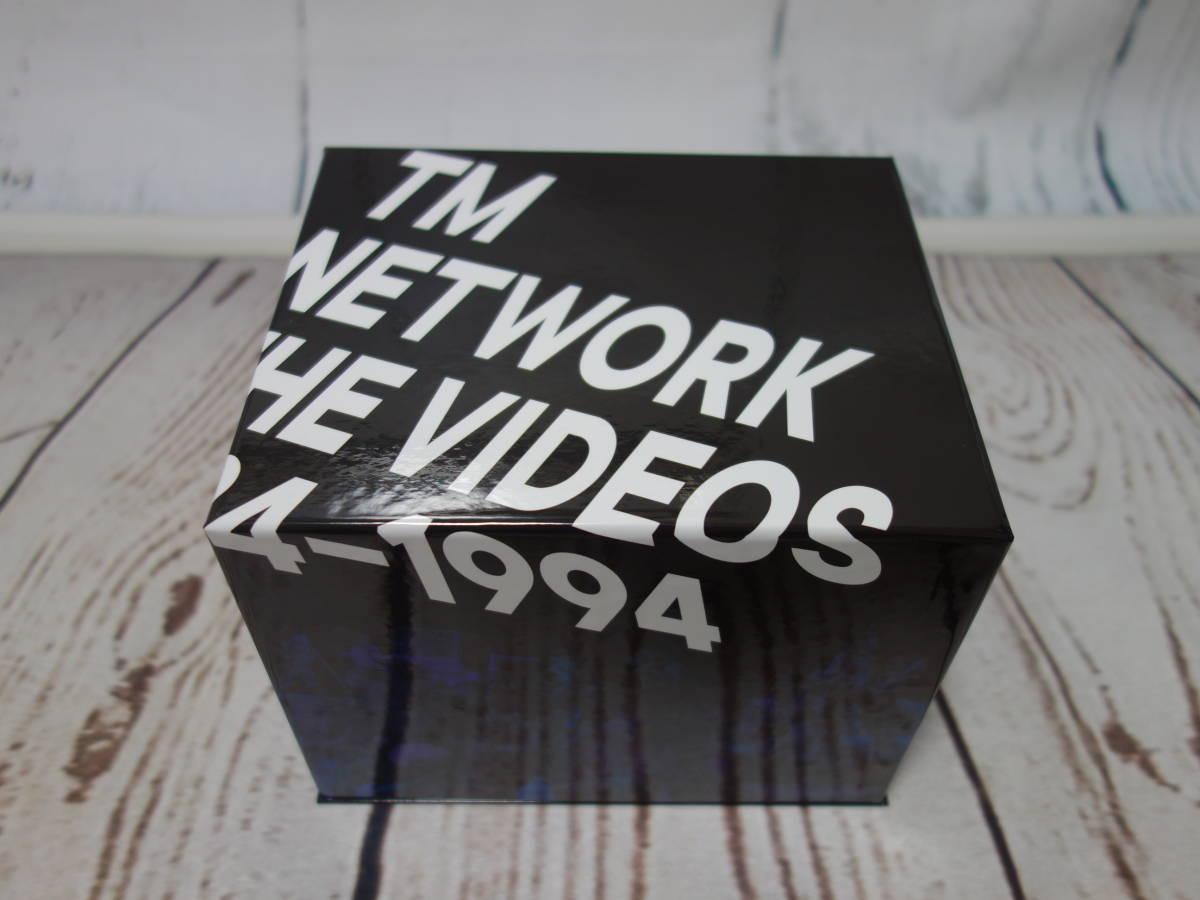 ◆TM NETWORK : THE VIDEOS 1984-1994 (完全生産限定盤) (Blu-ray Disc) (特典なし) ◆1回視聴のみ極美品 (小室哲哉、宇都宮隆、木根尚登)