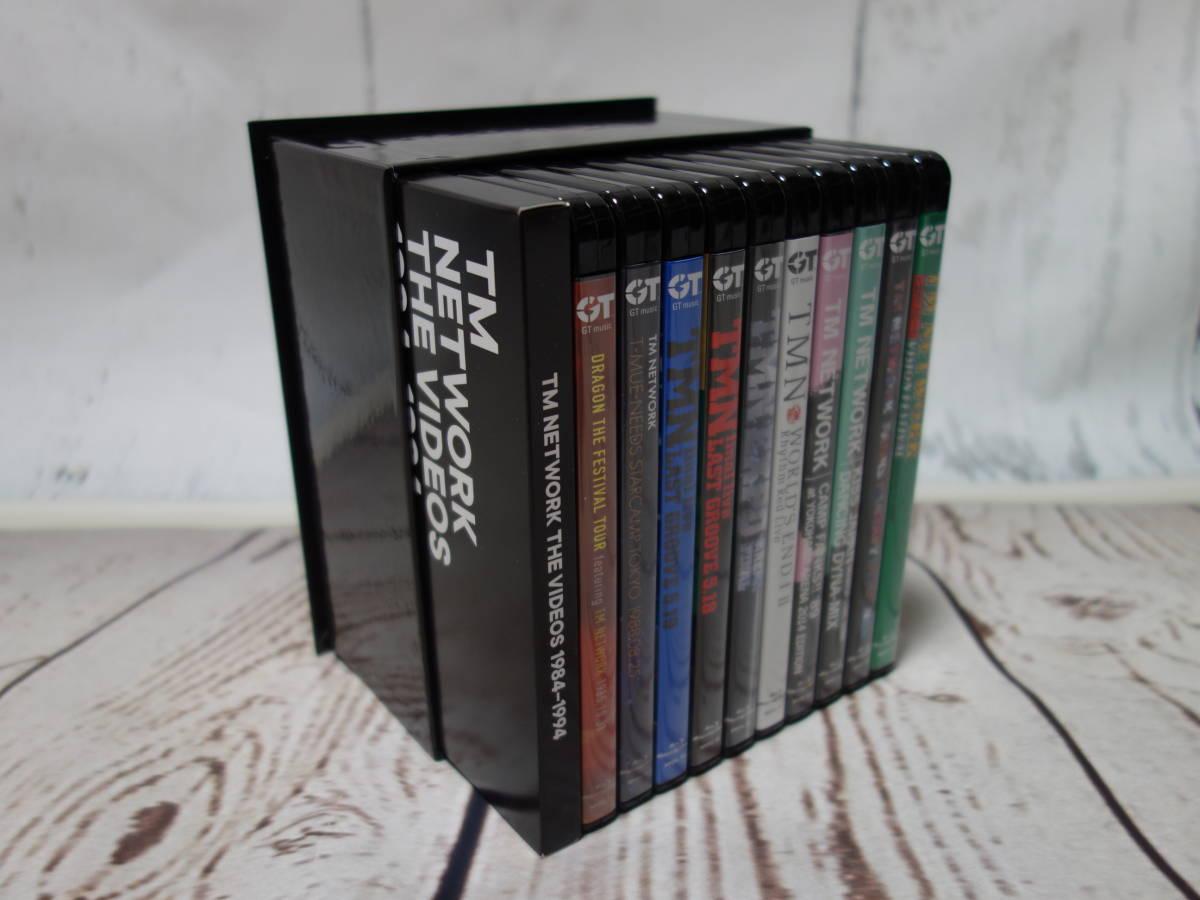 ◆TM NETWORK : THE VIDEOS 1984-1994 (完全生産限定盤) (Blu-ray Disc) (特典なし) ◆1回視聴のみ極美品 (小室哲哉、宇都宮隆、木根尚登)_画像2