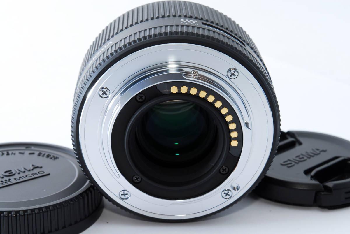 ★新品級★ シグマ SIGMA 30mm F2.8 EX DN マイクロフォーサーズ #3870_画像2