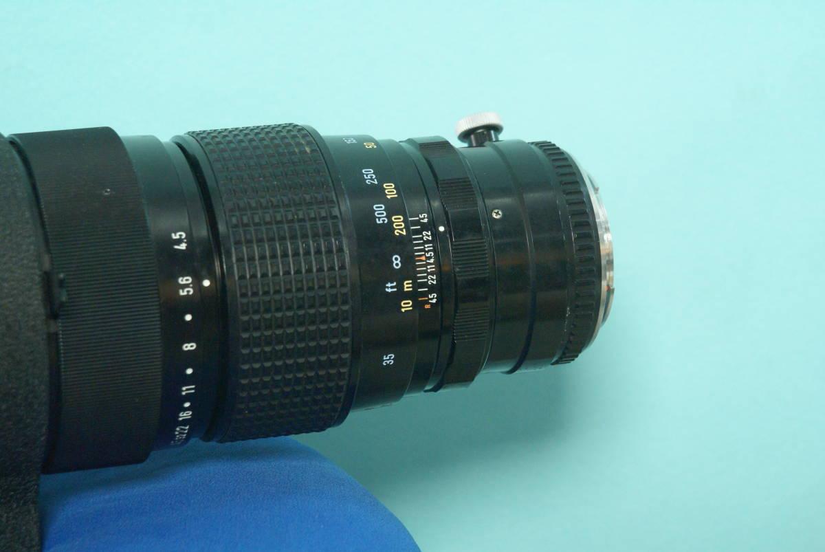ペンタックス レンズ 500mm F4.5 SMC_画像7