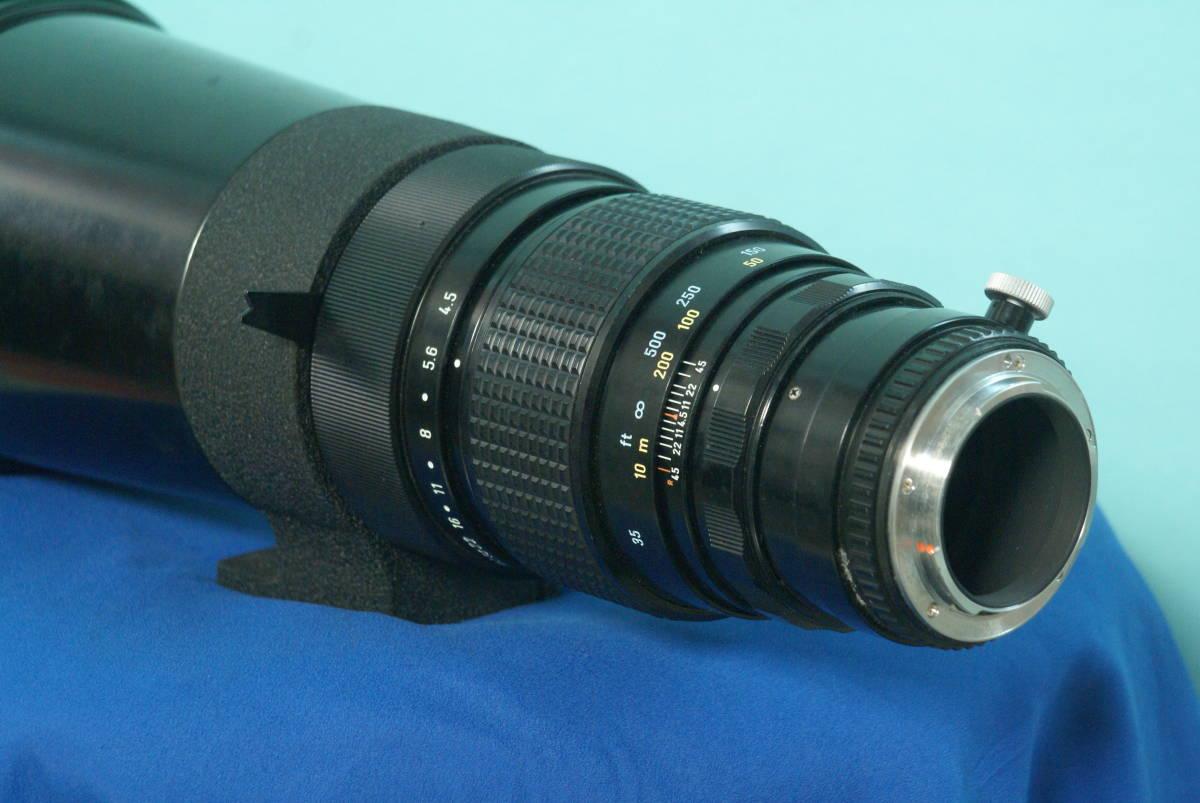 ペンタックス レンズ 500mm F4.5 SMC_画像8