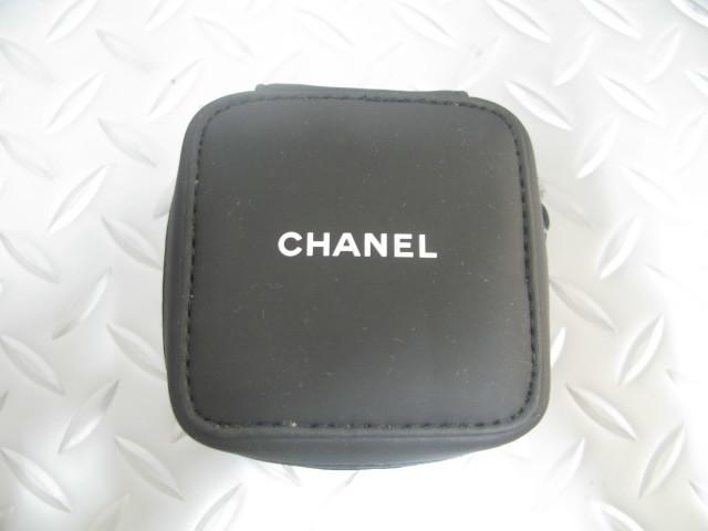 送料無料 CHANEL シャネル 純正 サービスケース 黒 時計 ソフト ケース 正規品_画像2