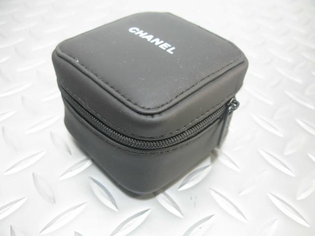 送料無料 CHANEL シャネル 純正 サービスケース 黒 時計 ソフト ケース 正規品