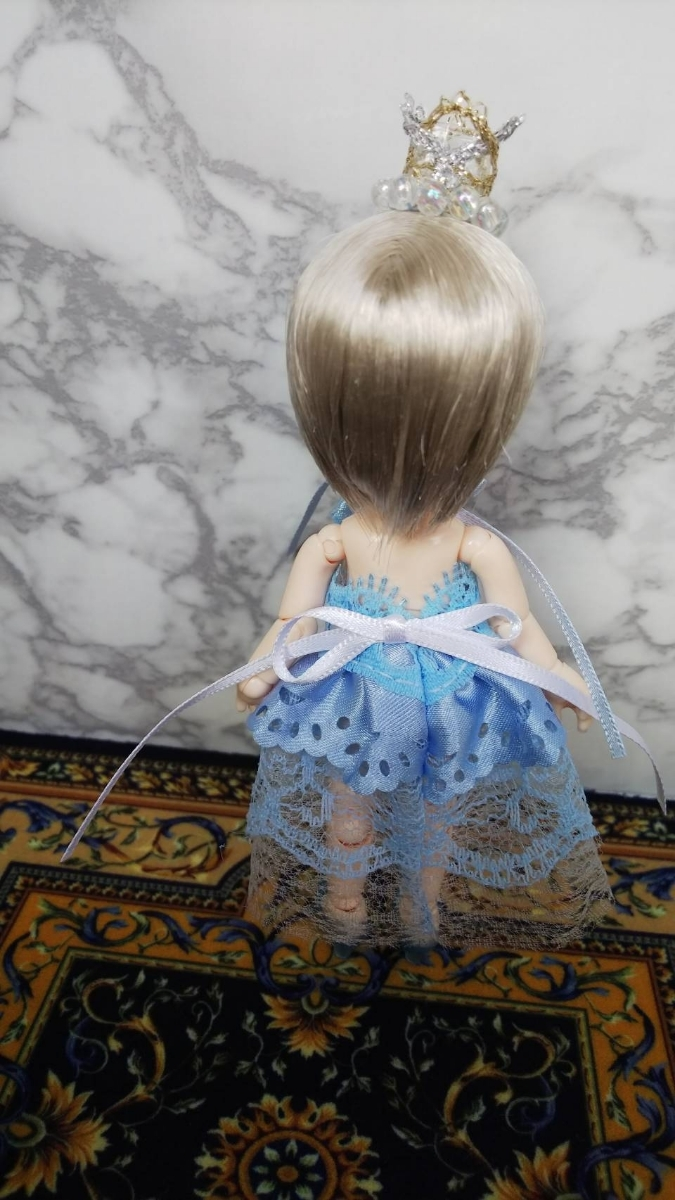 オビツ11サイズ青空のドレス_画像3