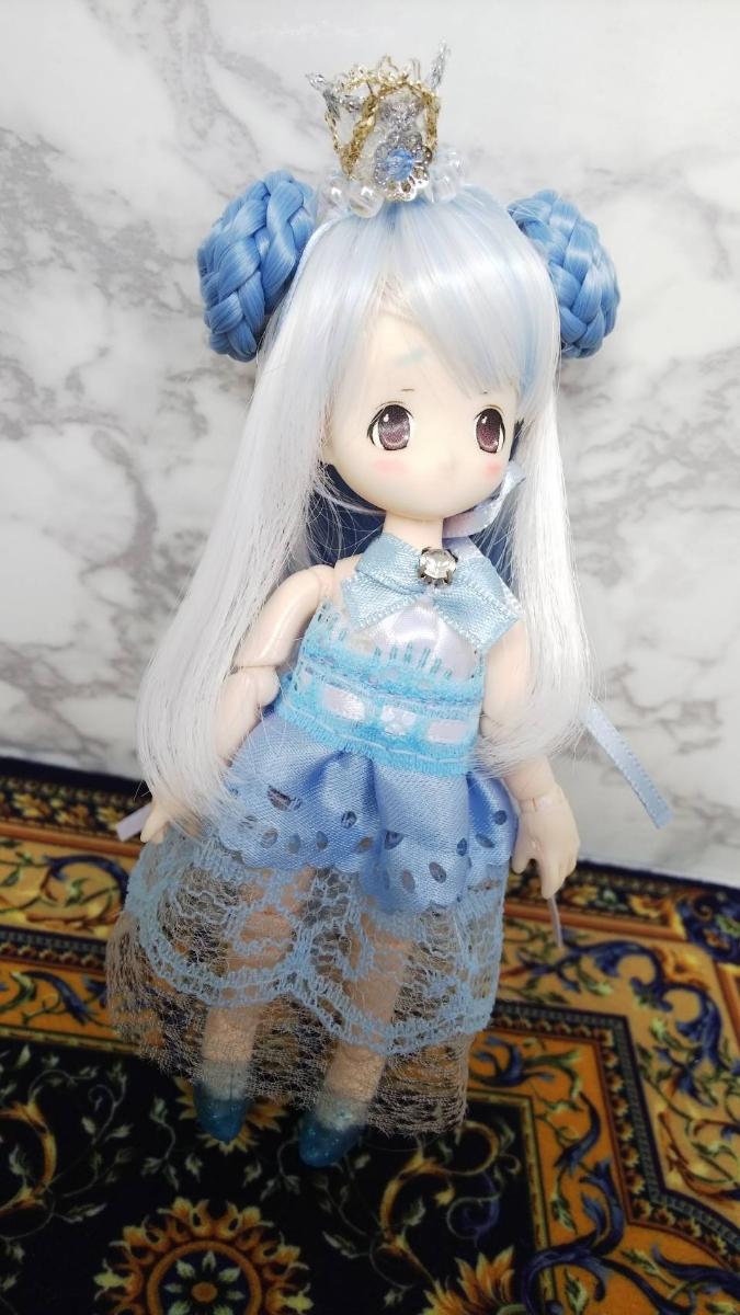 オビツ11サイズ青空のドレス_画像2