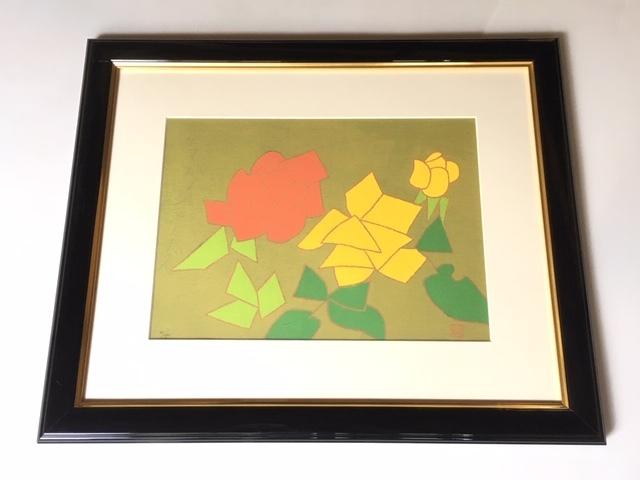 熊谷守一 薔薇の作品価値・価格・販売