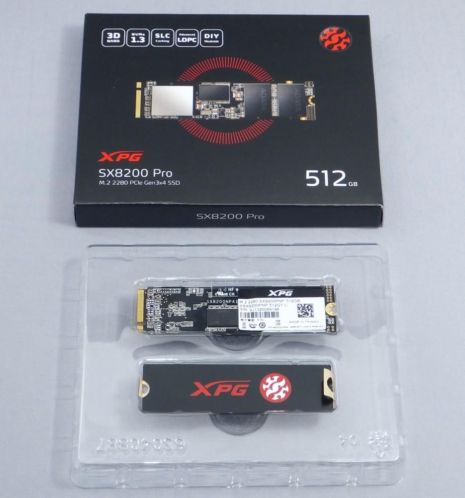 代購代標第一品牌- 樂淘letao - ADATA XPG SX8200 Pro 512GB NVMe M 2