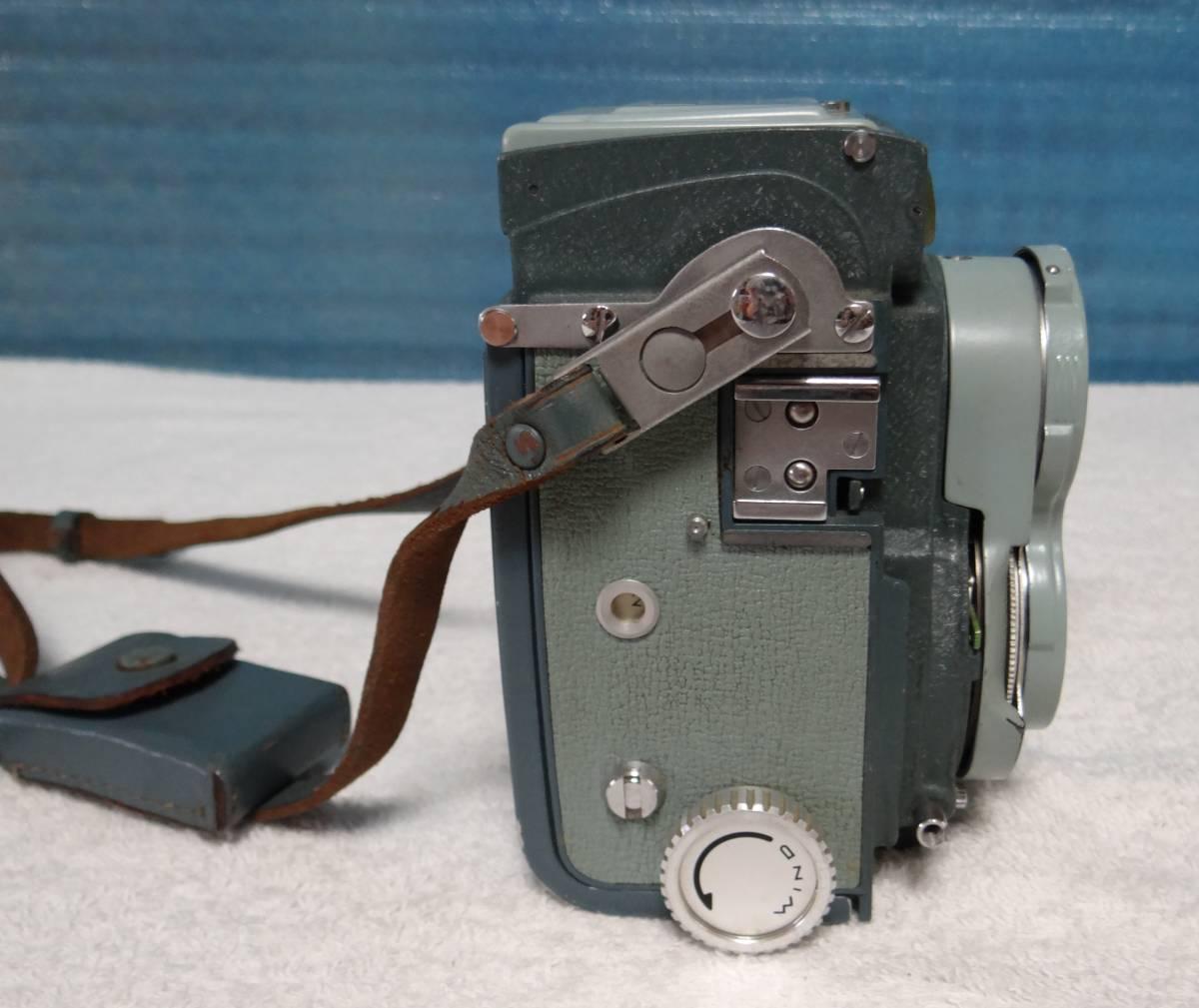 minolta ミノルタ miniflex ミニフレックス 二眼レフカメラ レンズ NIKKOR 1:3.5 f=60㎜ 中古ジャンク_画像4