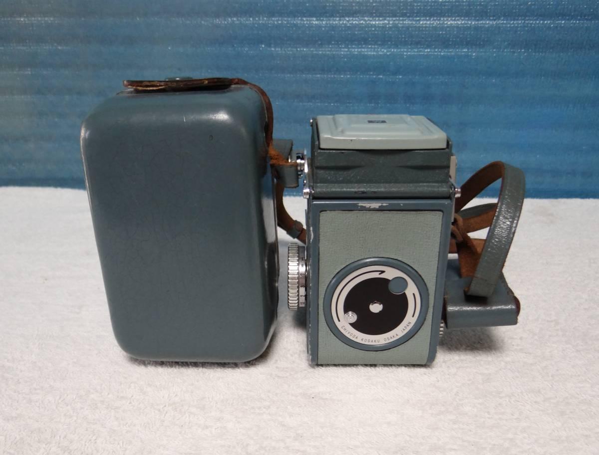 minolta ミノルタ miniflex ミニフレックス 二眼レフカメラ レンズ NIKKOR 1:3.5 f=60㎜ 中古ジャンク_画像2