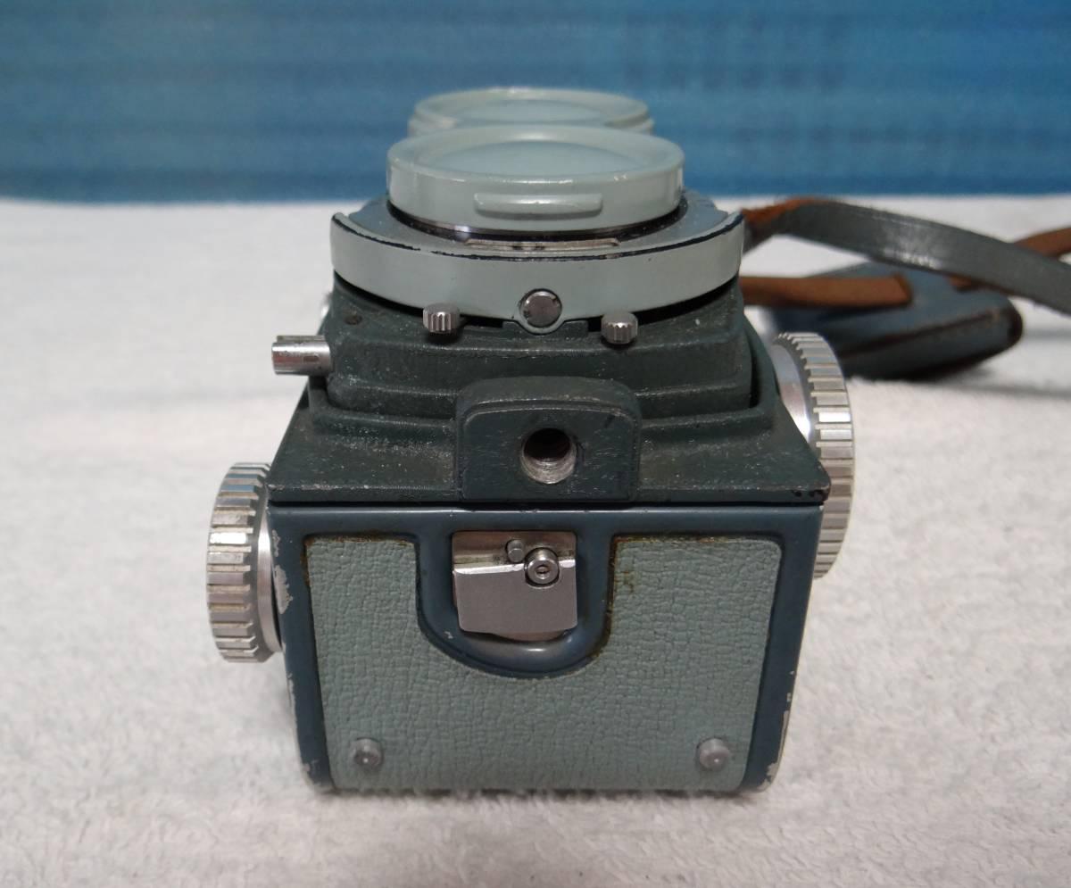 minolta ミノルタ miniflex ミニフレックス 二眼レフカメラ レンズ NIKKOR 1:3.5 f=60㎜ 中古ジャンク_画像7